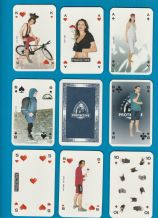 Collectible advertising  playing cards World Extreme Protective